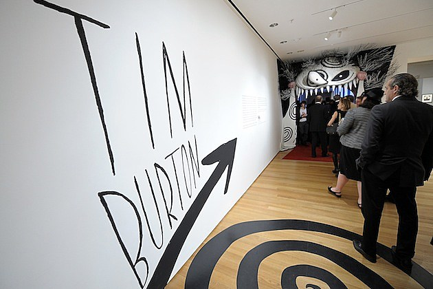 MoMA's Second Annual Film Benefit, Honoring Tim Burton – Inside