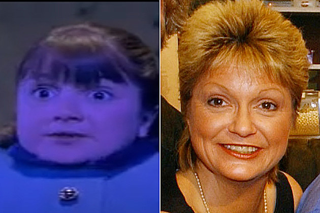 Denise Nickerson then and now
