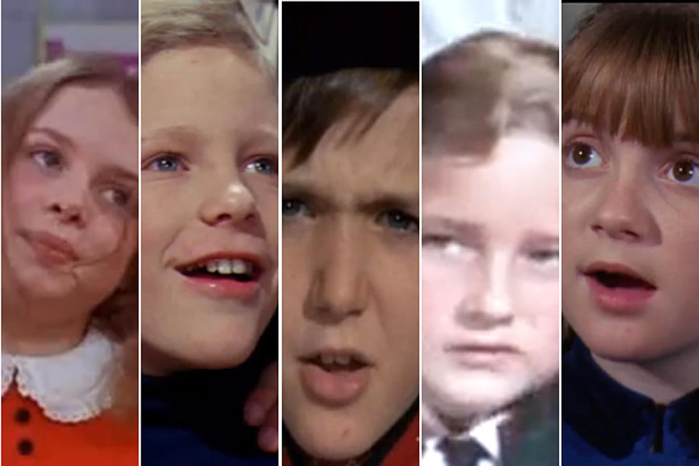 the kids of willy wonka the chocolate factory then and now - A Golden Christmas Cast