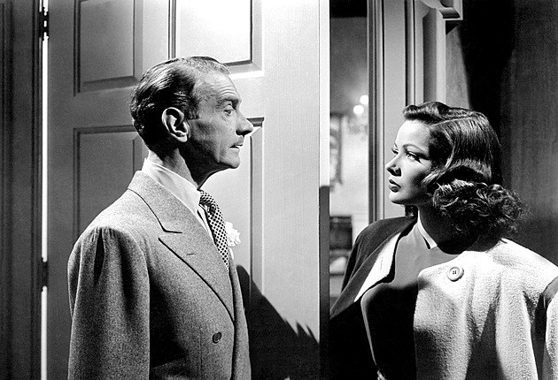 Cliffton Webb and Gene Tierney