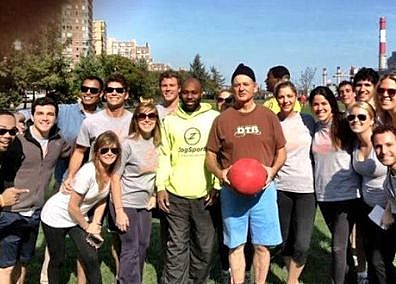 Bill Murray kickball