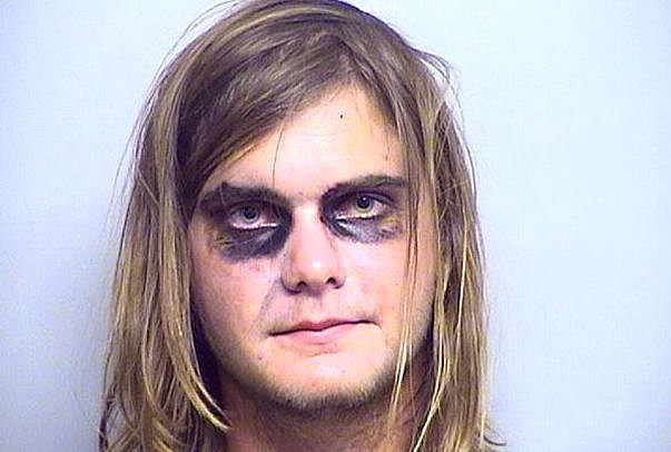 Halloween mugshot