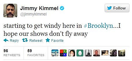 Jimmy Kimmel Sandy