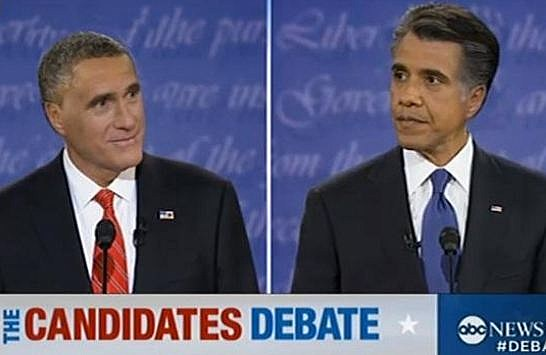 Romney Obama hair swap