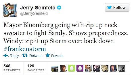 Seinfeld Sandy