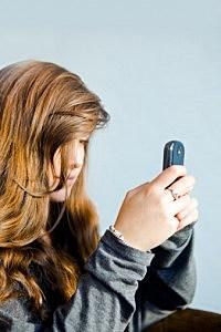 Texting Teen
