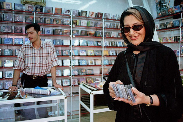 Music Flourishes in Iran cassettes