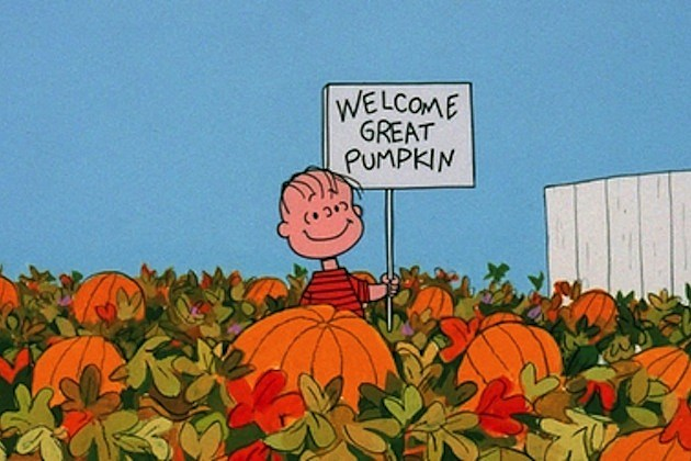 it's the great pumpkin charlie brown linus