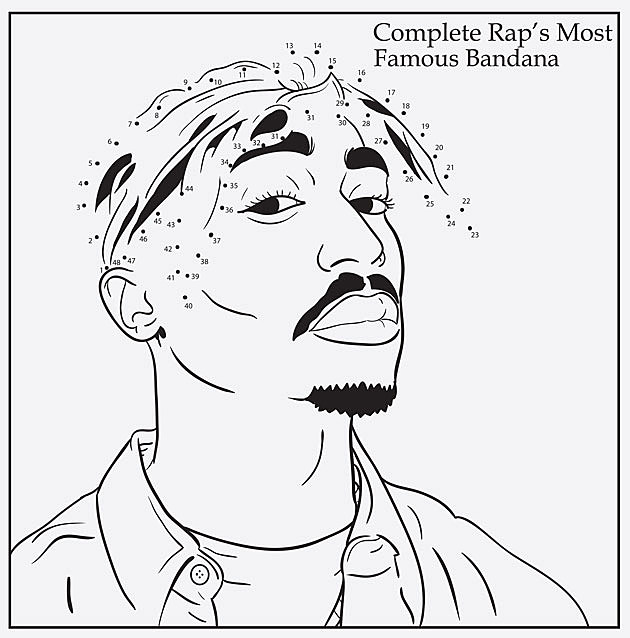 2Pac Coloring Book