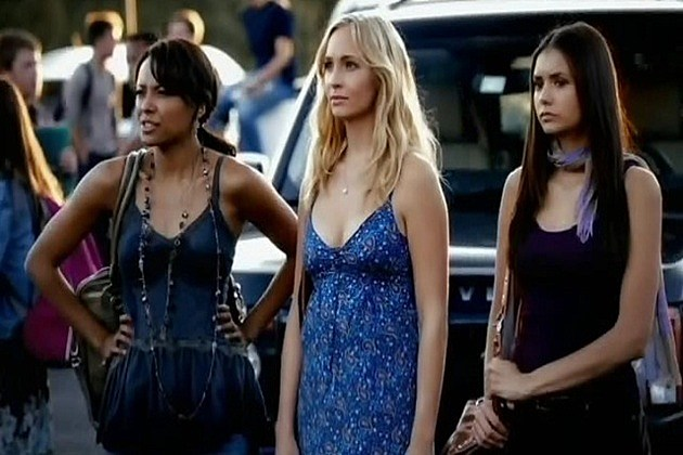 Elena, Bonnie, and Caroline
