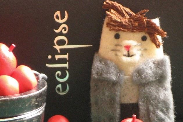 Edward Cullen Feline Plushie