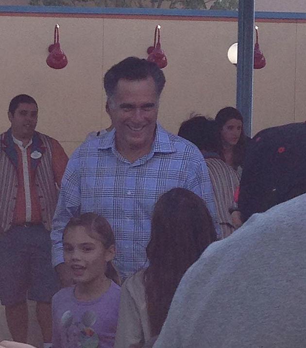 Mitt Romney Disney