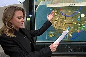 ScarJo weather report