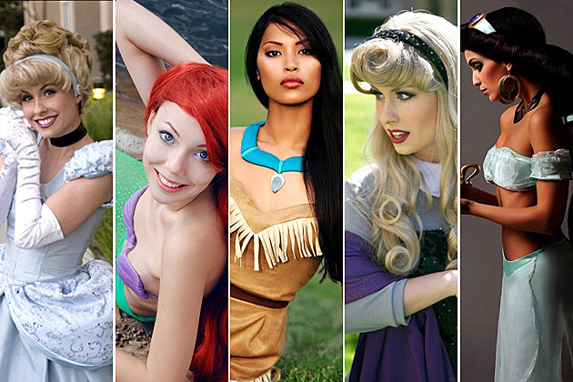 Disney Princesses IRL