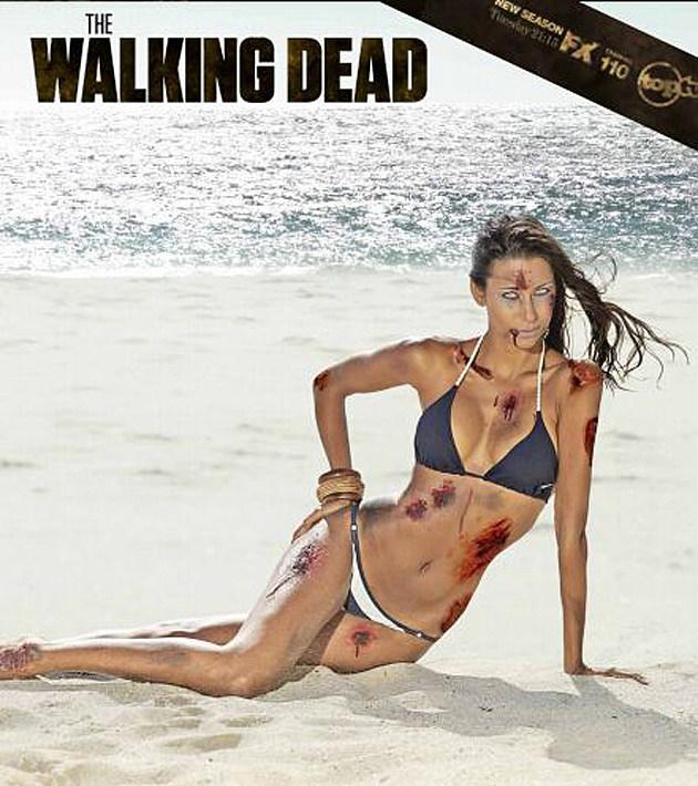 zombie babe calendar