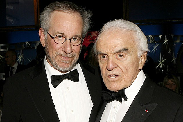 59th Annual DGA Awards - Backstage And Audience jack valenti steven spielberg