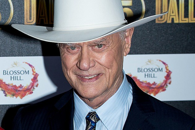larry hagman mother