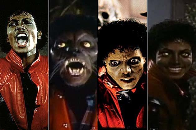 thriller michael jackson werewolf zombie video john landis