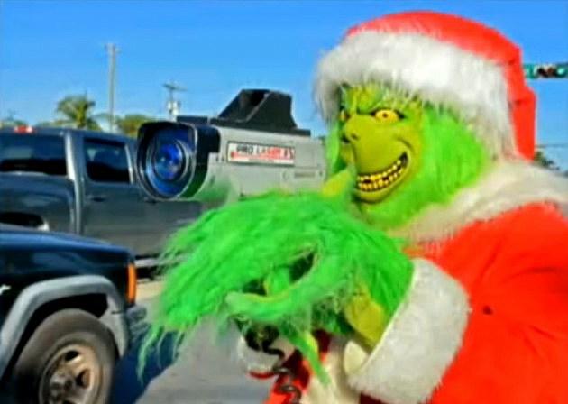 Grinch traffic cop