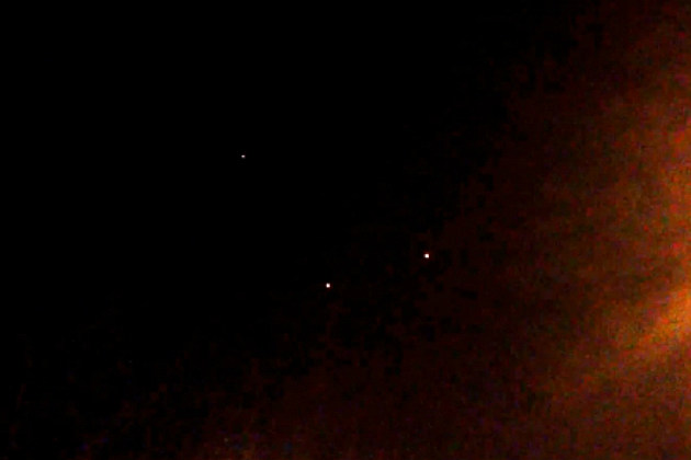 Identical UFOs Appear Over Brooklyn and San Francisco