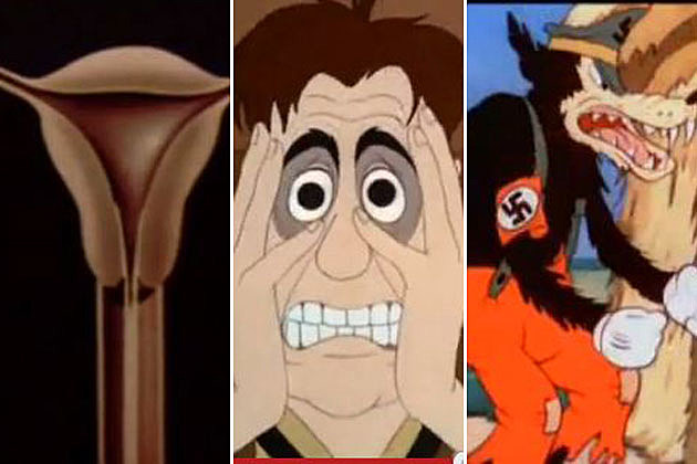 10 Disturbing Classic Disney Cartoons