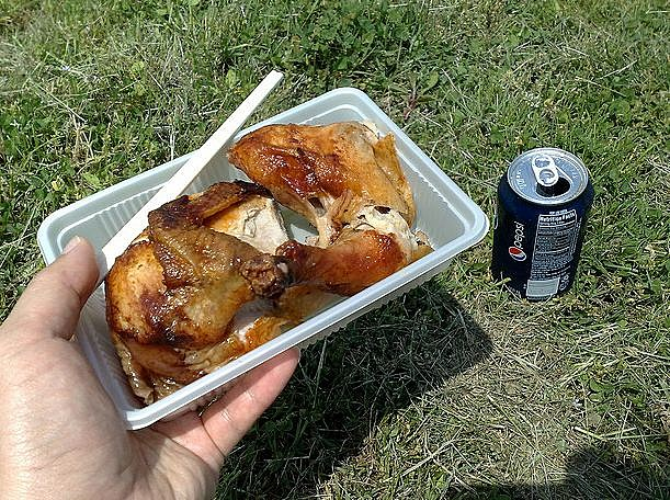 Pepsi Chicken