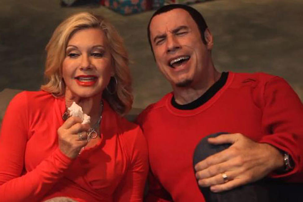 John Travolta And Olivia Newton-John Reunite to Ruin Christmas