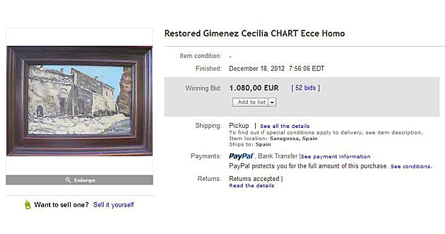 ebay auction ecce mono