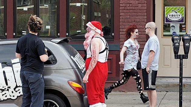 Santa Zombies
