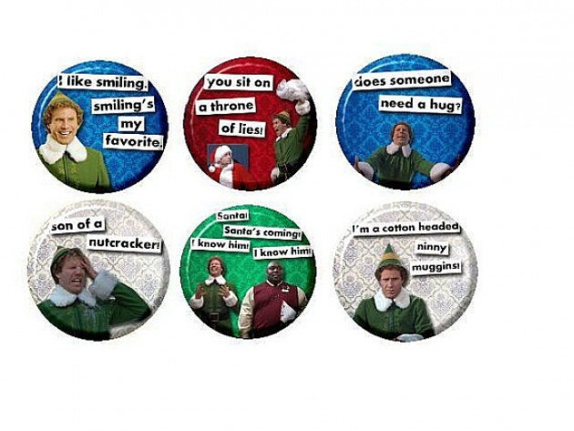 Elf Magnet Set