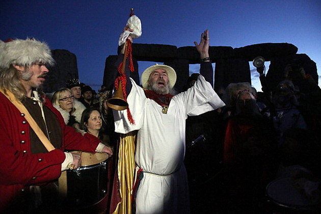 Rollo Maughfling, the Archdruid of Glastonbury and Stonehenge