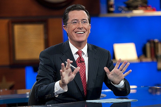 stephen colbert the colbert report comedy central
