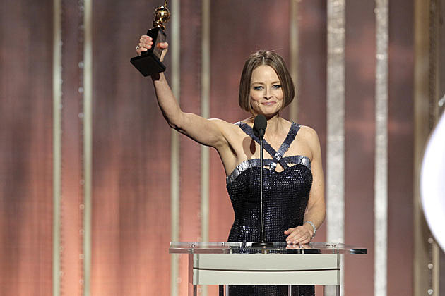 Jodie Foster Golden Globes Speech