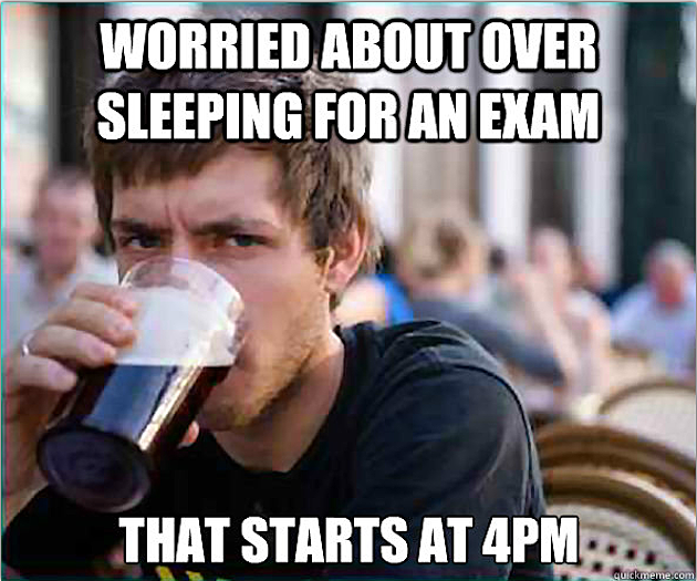 lazy college senior meme - photo #2