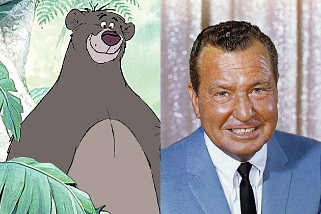 Image result for cartoon characters voices phil harris as baloo