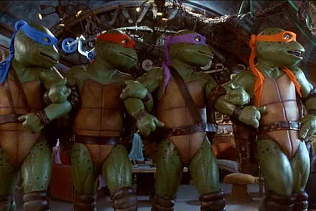 Teenage Mutant Ninja Turtles Then and Now