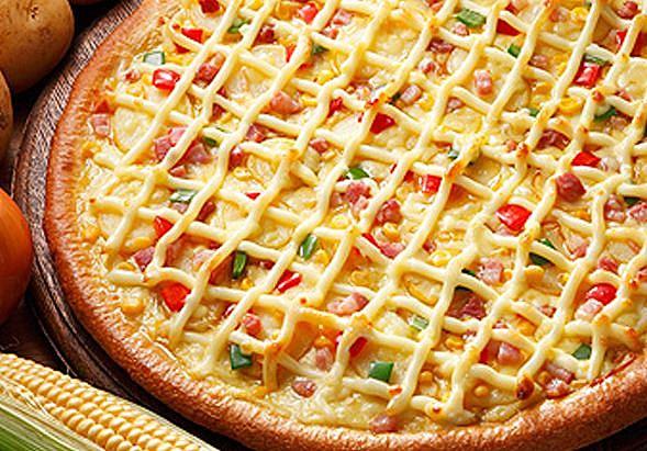 mayo pizza