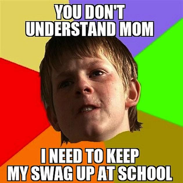 Angry School Boy Meme