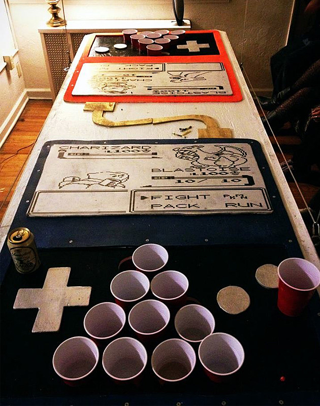 Game Boy Beer Pong