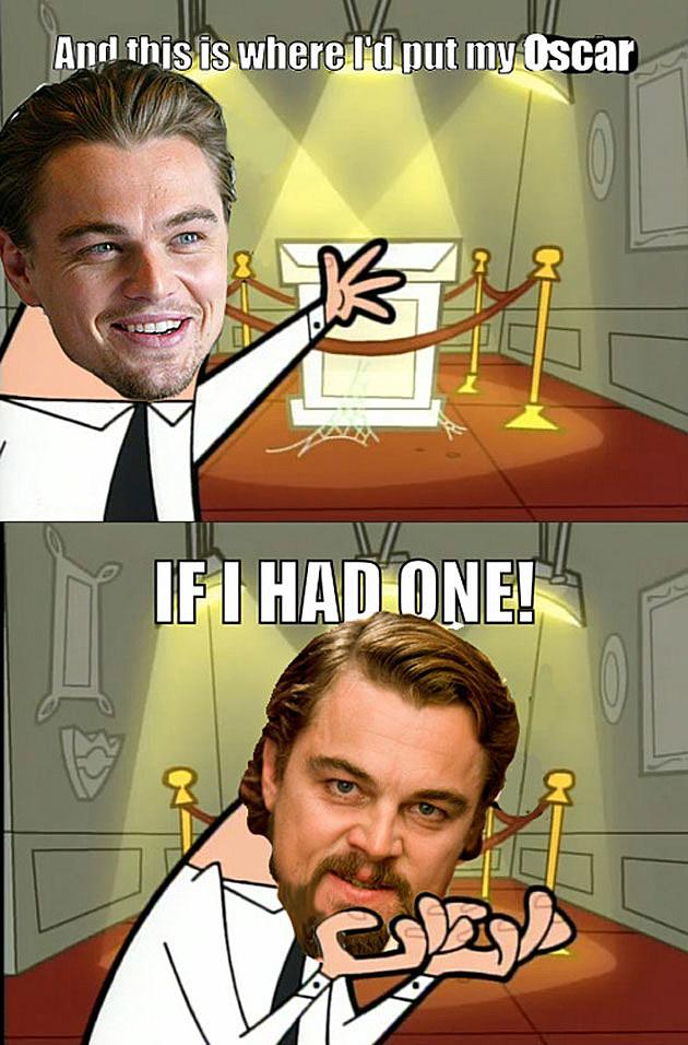 Leo DiCaprio Oscar Meme