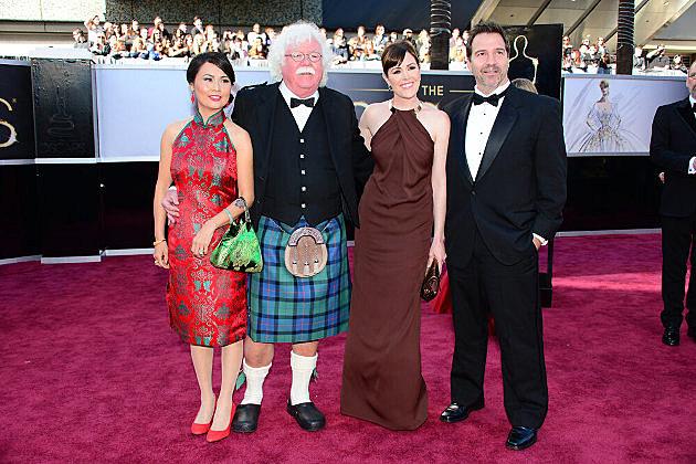 Seth MacFarlane Dad Oscars
