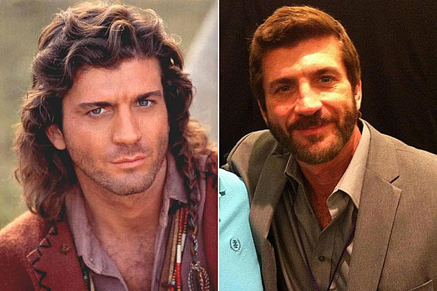 Joe Lando Sully Then Now