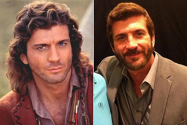 Joe Lando Sully Then Now
