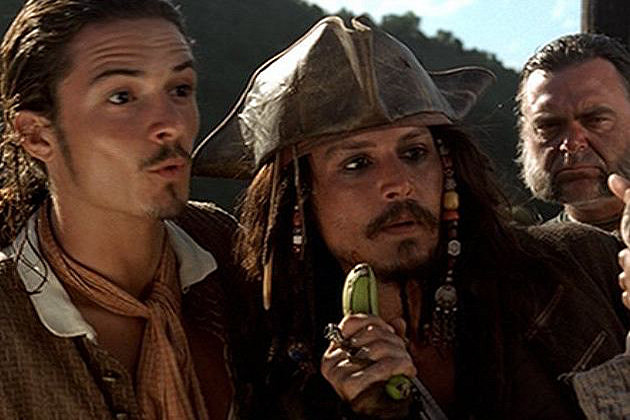 Pirates of the Caribbean: The Curse of The Black Pearl Then and Now