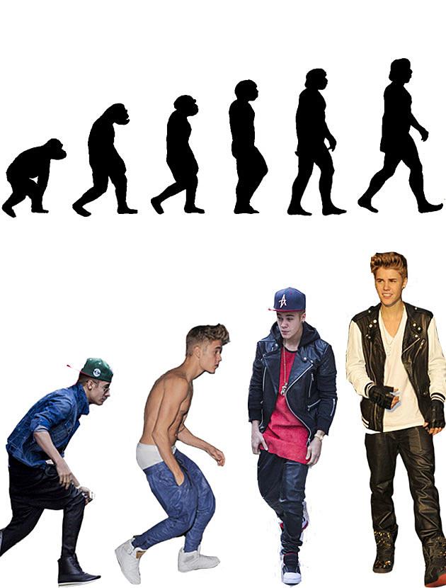 bieber evolution