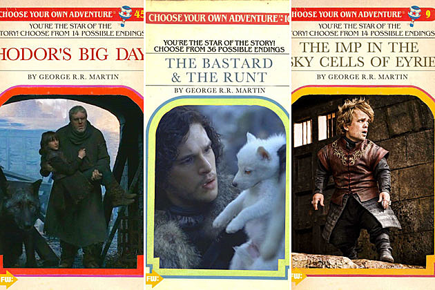 game of thrones choose your own adventure