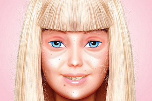makeup less barbie