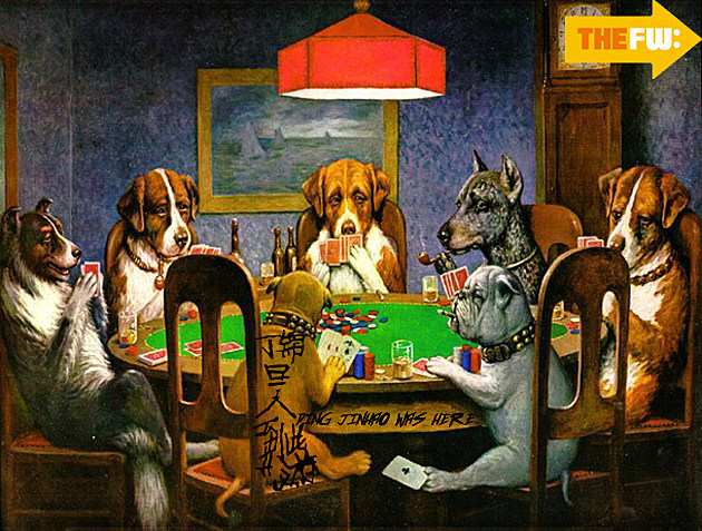 TheFW Dogs Poker