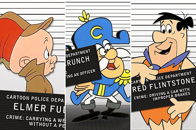 Cartoon Mugshots