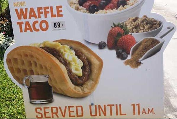 Waffle Taco